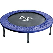 "Pure Fitness 40"" Mini Rebounder Trampoline, Ages 13+"