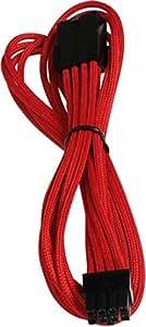 Bitfenix BFA-MSC-8PEG45RK-RP - Cable para tarjeta gráfica de 45 cm, color rojo