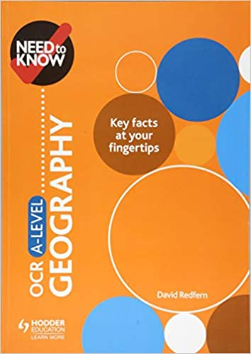 Need to Know: OCR A-level Geography: Amazon co uk: David