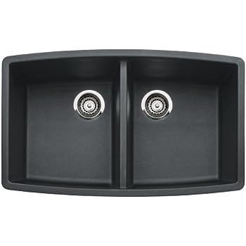 Blanco 441312 Performa 1 75 Medium Bowl Sink Anthracite