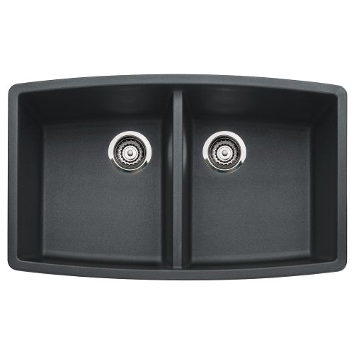 Anthracite Double Bowl Kitchen Sink - 5