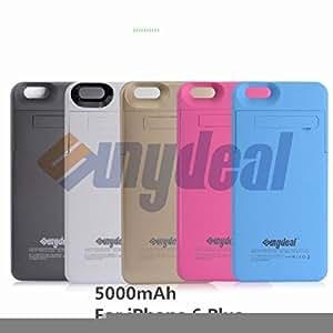Ledona 10000mAh Banco de alimentación externa recargable funda cargador Pack para iPhone 6S/6+ Plus