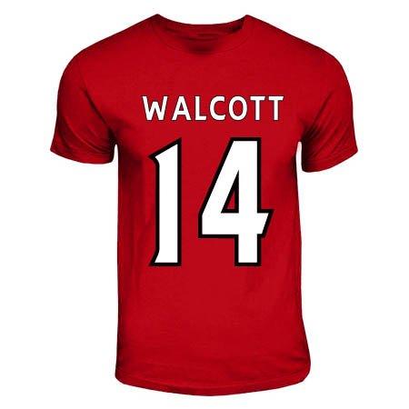 another chance cbdce 42e51 Amazon.com : UKSoccershop Theo Walcott Arsenal Hero T-Shirt ...