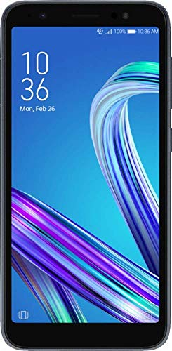 Asus – ZenFone Live with 16GB Memory Cell Phone, 5.5in IPS Touch Screen (Unlocked) – Midnight Black (Renewed)