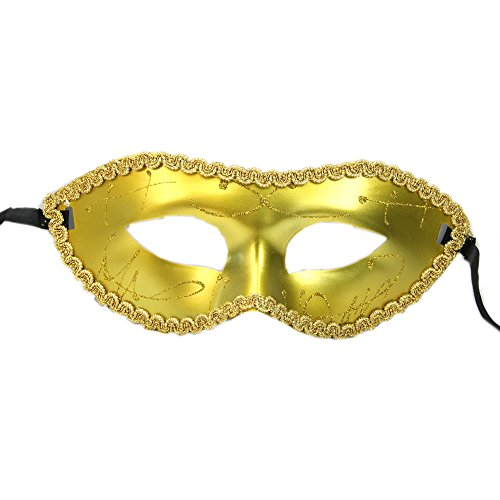 Batman Related Halloween Costumes (Chunlin 【Hallowmas mask】Men/Women Costume Prom Mask Venetian Mardi Gras Party Dance Masquerade Ball)
