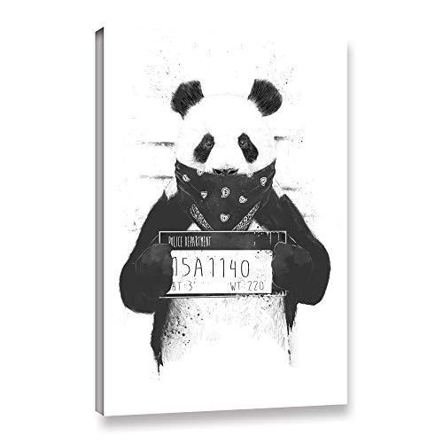ArtWall Balazs Solti's Bad Panda Gallery Wrapped Canvas 08x12 from ArtWall