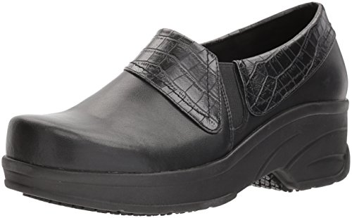 Easy Works Women's Assist Health Care Professional Shoe Black/Crocodile discount cheapest price 6dP7CYYWFM