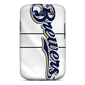 Shock-dirt Proof Milwaukee Brewers Case Cover For Galaxy S3