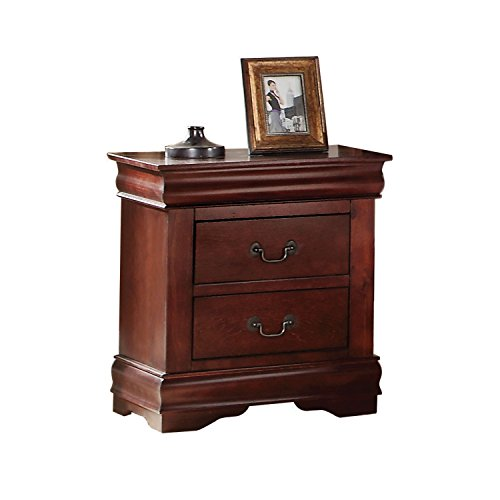 Acme Furniture Louis Philippe 23753 Nightstand, Cherry, One Size