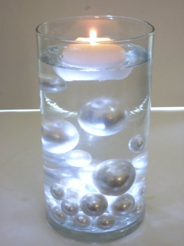Amazon No Hole All White Pearls Jumbo And Assorted Sizes Vase
