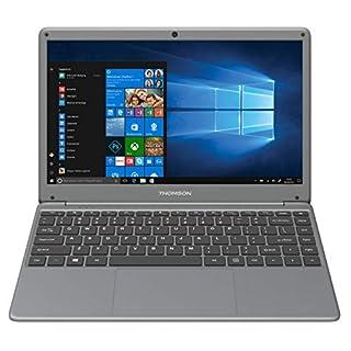 Thomson WWX14C4T64 Neo X14 14.1 Ultrabook Intel Celeron N3050, 4GB DDR3L, 64GB eMMC, Windows 10 Laptop - Gray (Tungstene)