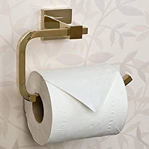 lovely Naiture Toilet Paper Holder in Polished Brass Finish