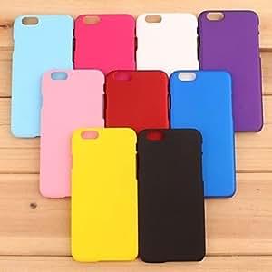 SHOUJIKE Pajiatu Mobile Phone Hard PC 5.5'' Inch Back Cover Case Shell for Apple iPhone 6 Plus (Assorted Colors) , Purple