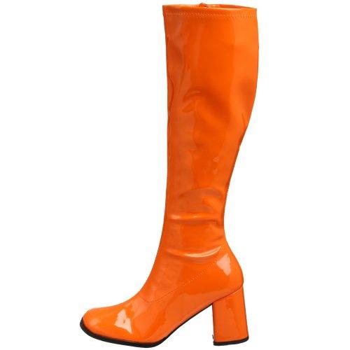 Arancione Scarpe block Da Gogo A Funtasma Collo Alto Donna 300 84Hnwx6