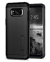 Spigen Tough Armor Designed for Samsung Galaxy S8 Case (2017) - Black