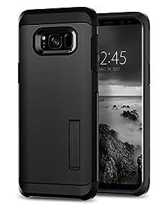 Spigen Funda Protector Tough Armor para Samsung Galaxy S8 Plus, color Negro
