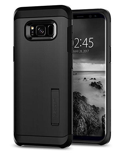 Spigen Tough Armor Designed for Samsung Galaxy S8 Case (2017) - Black (Best Case For Samsung Galaxy S8)