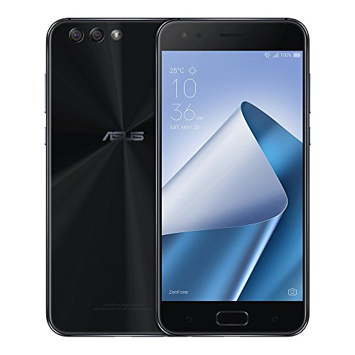 ASUS ZenFone 4 (ZE554KL) 4GB / 64GB 5.5-inches Dual SIM Factory Unlocked - International Stock No Warranty (Midnight Black)