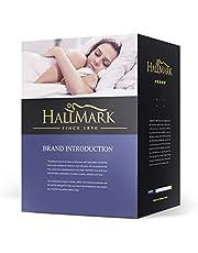 HALL-MARK Microfibre Mattress Topper, 3D Massage Bubbles Fabric
