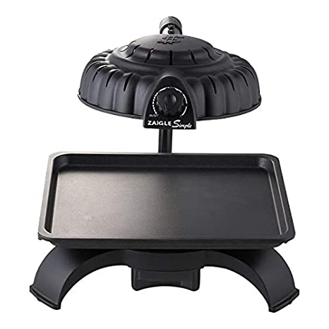 Zaigle ZG-BU371 Simple Infrared KBBQ Electric Grill, 120v, Black