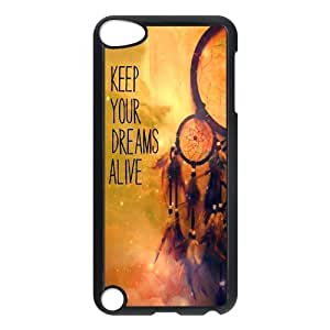 Hipster Dream Catcher Ipod Touch 5th Case Cover Cloud Feather Catcher Keep Your Dreams Alive Quotes