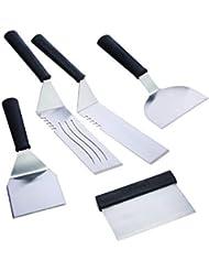 Cuisinart CGS-509 Spatula Set 5-Piece Stainless Steel, 10