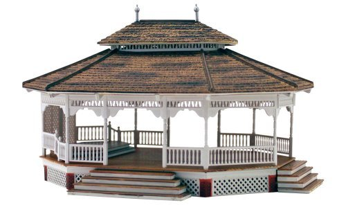 Woodland Scenics HO Scale Built-Up Building/Structure Grand Gazebo