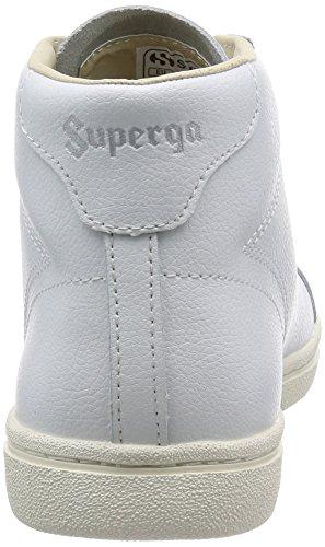 Superga 4531-Bycu, Sandalias con Plataforma Unisex Adulto White