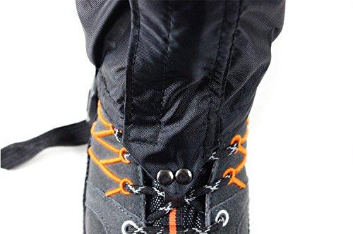 Hiking Gaiters Waterproof Outdoor Walking Climbing Hunting Snow Legging for walker(A pair)