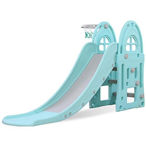 Freestanding Slides Slide Children's Indoor Slide Combination Baby Baby Slide Outdoor Children's Toys Kindergarten Long Small Toys Playground Children's Gifts (Color : Blue, Size : 185x98cm) by Freestanding Slides (Image #7)