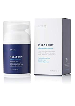 Meladerm - Crema blanqueadora para hiperpigmentación, puntos ...