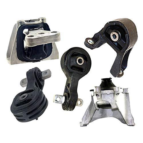 - K0984 Fits 2007-2011 Honda CRV 2.4L 4WD Engine Motor & Trans Mount Set 5 PCS : A4595, A65010, A4536, A4535, A4598
