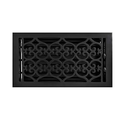 (Signature Hardware 345959 Old Victorian Cast Iron Floor Register - 6