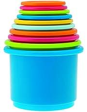 Chicco - Babyspeelgoed Stapelbare bekertjes, set van 10