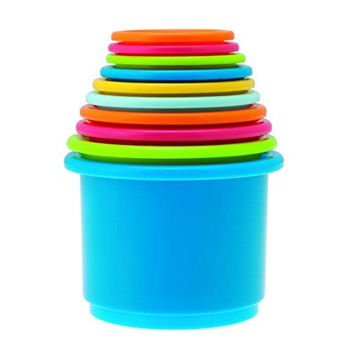 Chicco – Babyspeelgoed Stapelbare bekertjes, set van 10