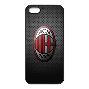 iPhone 4 4s Cell Phone Case Black AC Milan Football 0011 HIV6755169514236