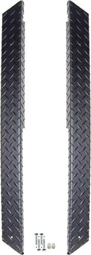 Club Car DS Golf Cart Black Diamond Plate Rocker Panels