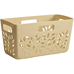 Hutzler Pantry Basket, Almond