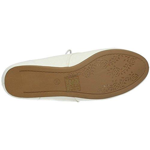 De Chaussures Femme Shoes Pour Ville Hf Blanc Hy025 À Lacets BqaW1Rx