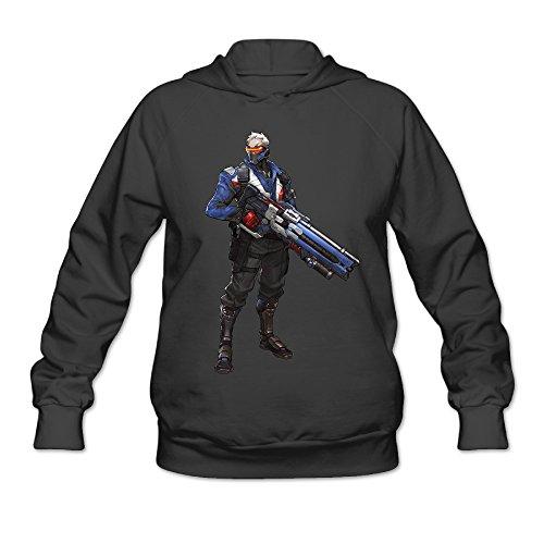 Overwatch Women's SeventySix Hoodies Sweatshirt Size XXL Black