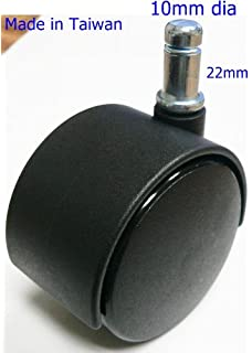Amazoncom Oajen  Soft Wheel Chair Caster Wheel Hardwood Floor - Casters for hardwood floors