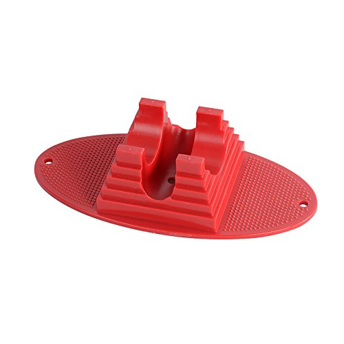 GRAVITI Pro Scooter Stand fit Most Major Scooters for 95mm to 120mm Scooter Wheels (Red)