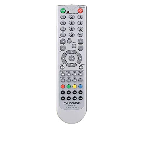 RM-808E TV AT2 LCD SAT DVD VCD AUX 8 in 1 Universal Remote Control