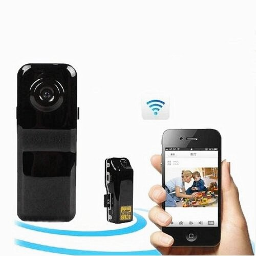 Mini Cmos Spy Camera Dvr Slot Smartphone Video Wifi Operation Battery Card