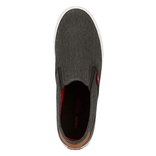 Levi's Mens Seaside CT L Casual Rubber Sole Slip-On Sneaker Shoe