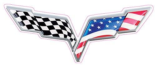 corvette flag emblem - 6