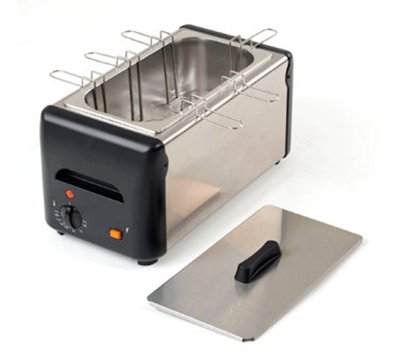 Equipex CO-6 15.5-in Egg Cooker w/ 6-Holders, 10-Egg Capacity, 120 V, Each
