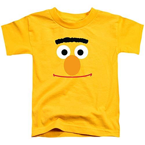 (Toddler Sesame Street Bert Face T Shirt, Size 2T)