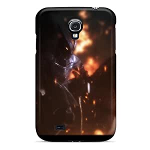 Nelsoncc Perfect Tpu Case For Galaxy S4/ Anti-scratch Protector Case (skyrim Firelord Approaches)