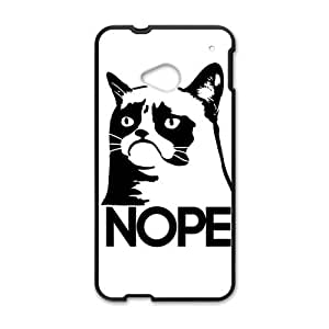 Happy Lovely cat Cell Phone Case for HTC One M7